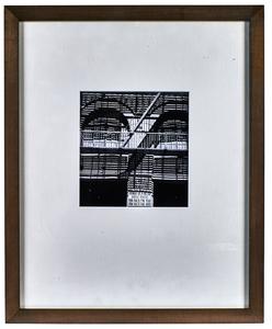 Ralph Steiner Park Ave. Garage gelatin silver print