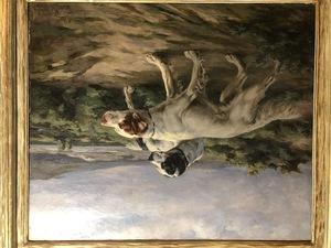 Percival Rosseau Two Setters in a Landscape, 1907