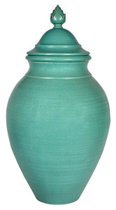 Rookwood Pottery covered urn