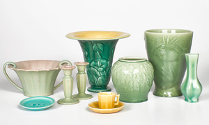 Group of Rookwood Pottery