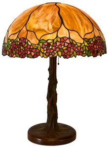 Unique Art Glass & Metal Company table lamp