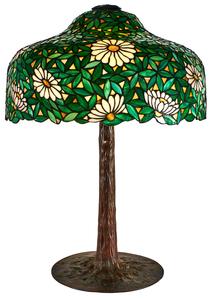 Suess Ornamental Glass Daisy table lamp