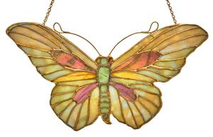 Tiffany Studios Butterfly shield