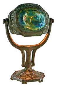 Tiffany Studios Turtleback desk lamp