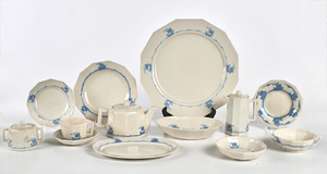 Rookwood Pottery Ship dinnerware