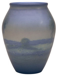 Rookwood Pottery by Ed Diers Landscape vase