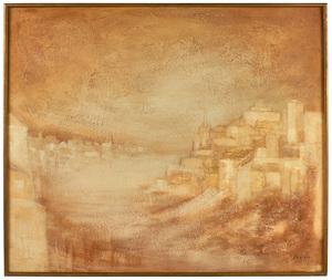 Zoran Music (Slovenian, 1909-2005) Cityscape