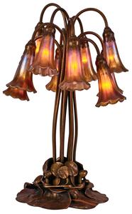 Tiffany Studios Ten-light Lily Lamp