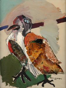 Benny Andrews The Bird