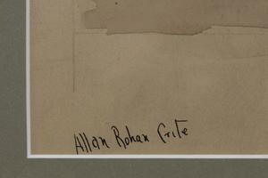 Allan Rohan Crite Boston Port Scene