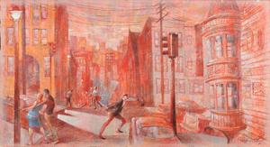 Raymond Howell Untitled San Francisco Street Scene