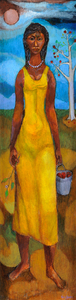 Frederick D Jones The Girl in the Yellow Dress