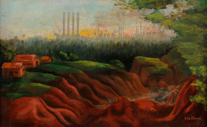 Charles W Stallings Red Clay Dry Weather Houses