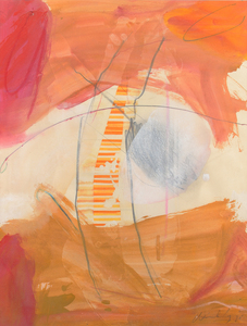 Frank Wimberley Untitled Abstract Composition