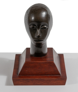 Elizabeth Catlett Untitled Head of a Woman