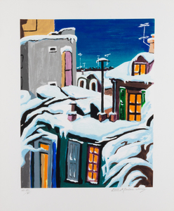 Lois Mailou Jones Winter Night