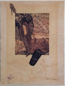 Betye Saar Bookmarks in the Pages of Life