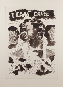 Robert Colescott I Cant Dance