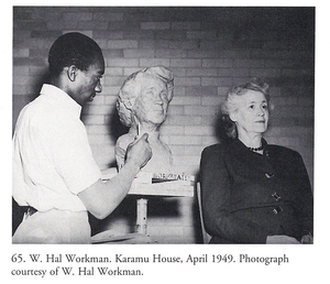 W Hal Workman Head of an Athlete