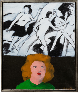 Robert Colescott Untitled