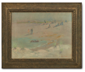 Dawson Dawson-Watson (British-American, 1864-1939) On the French Riviera, 1927