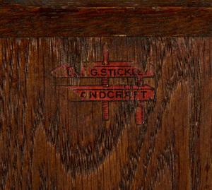 L. & J.G. Stickley mantel clock