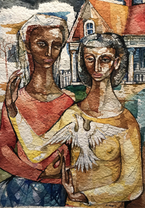 Frederick D Jones Jr Untitled Two Women