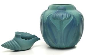 Van Briggle vases, group of two
