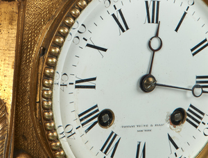 Tiffany, Young & Ellis clock