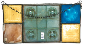Louis Comfort Tiffany hanging tiles