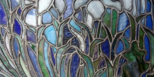 Tiffany Studios Lily window