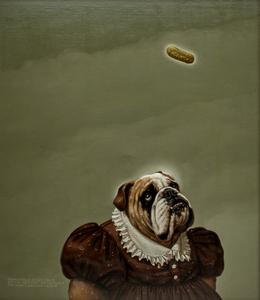 Donald Roller Wilson (American, b. 1938) The Queen's Dog's Aunt Helen