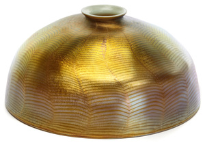 Louis Comfort Tiffany Damascene shade