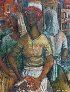 Frederick D. Jones, Jr. Untitled (Three Women)