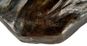 Robert Farrington Elwell (American, 1874-1962) bronze