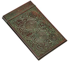 Tiffany Studios Zodiac notepad