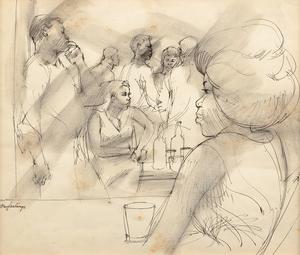 Tom Feelings Untitled (Bar Scene)
