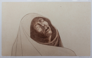 Charles White Hooded Figure