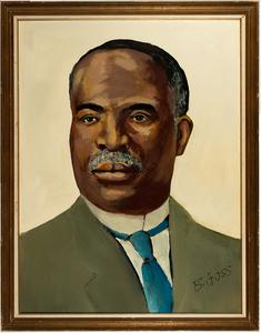 Bernard Goss Portrait of Kelly Miller