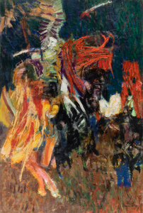Hale Woodruff Abstract