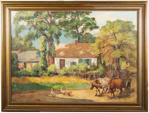 William E. Scott Sunlight and Shadows Haiti