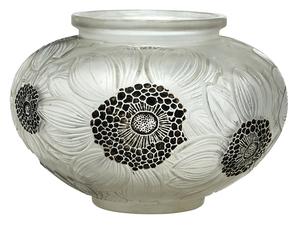 Rene Lalique Dahlias vase