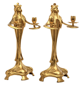 Bitter and Gobbers candlesticks