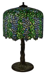 Unique Wisteria table lamp