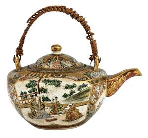 Satsuma teapot