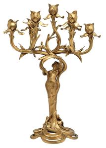 Art Nouveau candelabra