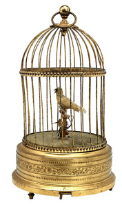 Karl Griesbaum musical bird cage automaton