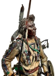 James Regimbal (American, b. 1949) Silent Sentinel bronze