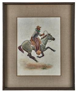 Robert Farrington Elwell (American, 1874-1962) pastel on paper