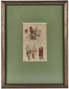 Rosa Bonheur (French, 1822-1899) Untitled study